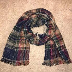 "Plaid ""softer than cashmere"" scarf"